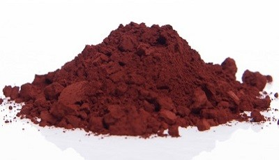 Pigment Oxyde de fer rouge