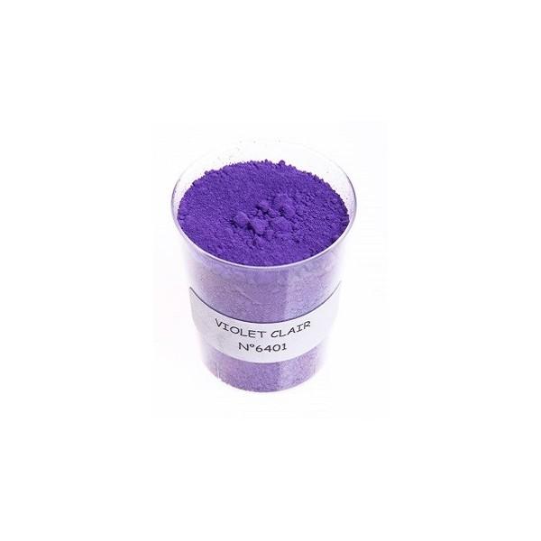 Pigment violet clair 6401 le moulin couleurs terres - Violet clair peinture ...