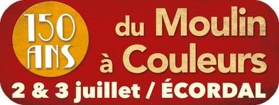 2 et 3 juillet 2016 150 ans du Moulin à Couleurs