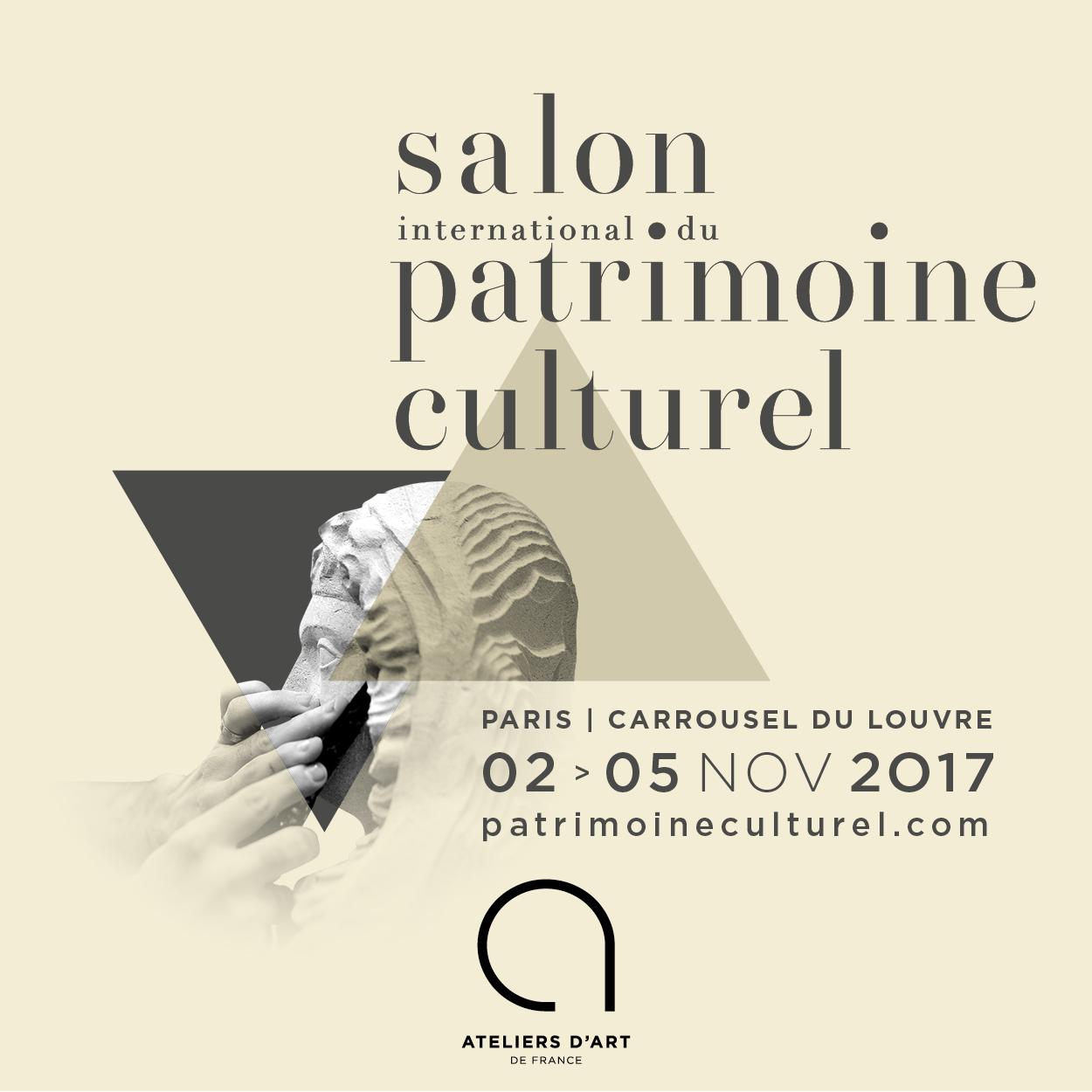 salon du patrimoine culturel carroussel du Louvres 2017