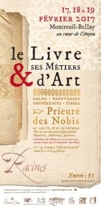 salon livre et ses métiers d'Art à Montreuil bellay