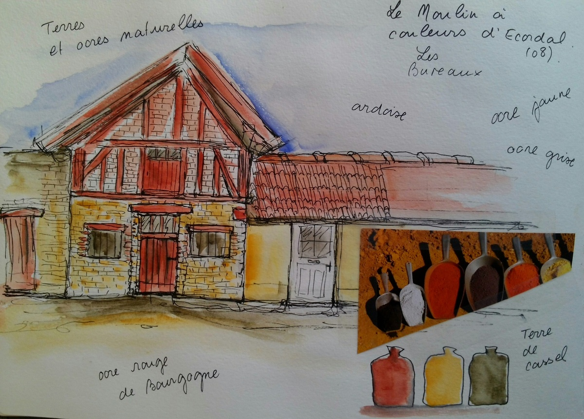carnet mme Henrion Moulin à Couleurs