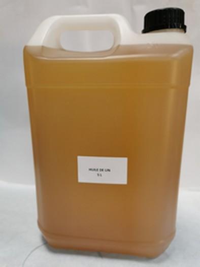 HUILE DE LIN 5 litres