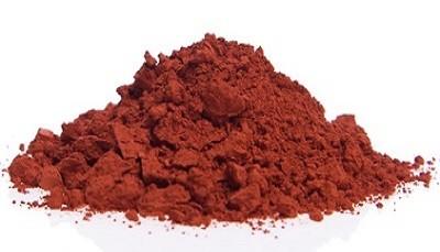 Pigment Ocre Rouge de Bourgogne (Puisaye)