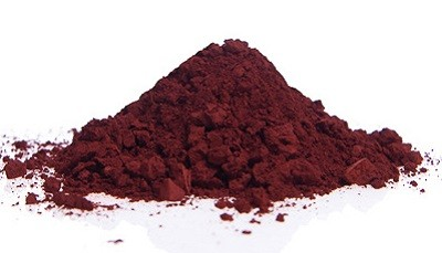 Red iron oxide from Madras N° 1560