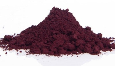 Pigment Oxyde de Fer Rouge Framboise